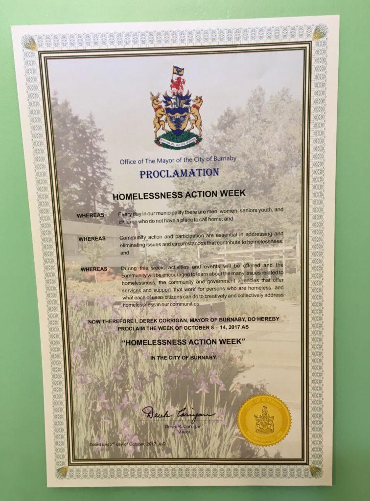 HAW proclamation 2017