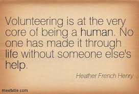 volunteering quote Heather French Henry full size