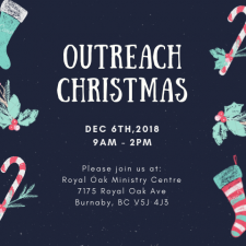 Outreach Christmas Flyer (Post)