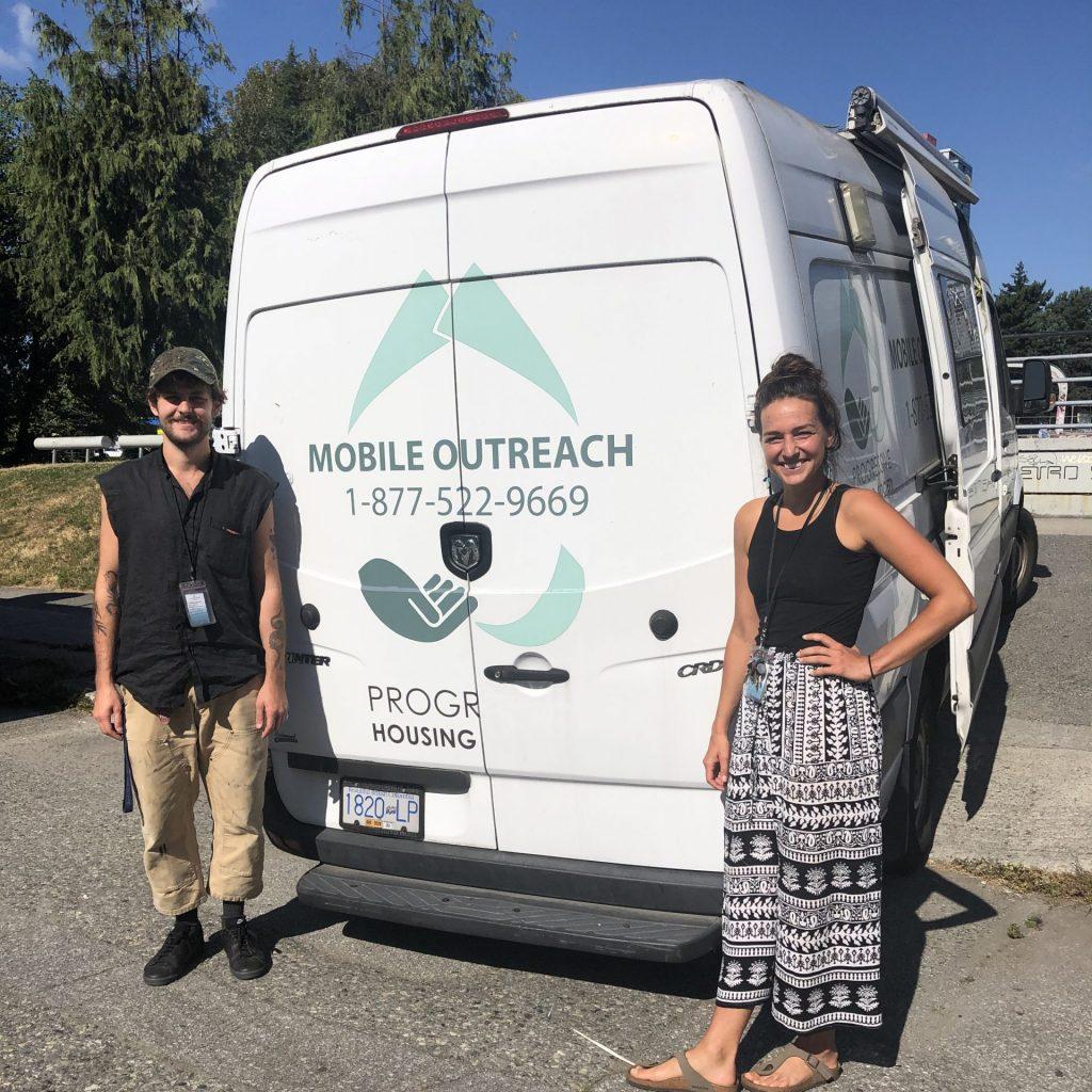 progressive housing outreach van